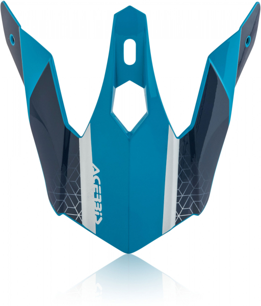 ACERBIS HELMET VISOR STEEL JUNIOR BLUE 23308.245