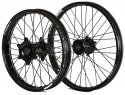 KITE WHEELS SPORTS EXC/F 03-19 FE TE 14-19 BLK HUB & SPOKES 402072101N