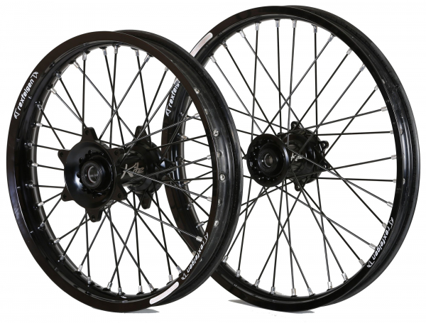 Kite Performance KITE WHEELS SPORTS SUZUKI RMZ 450 05-19 BLACK HUB & SPOKES