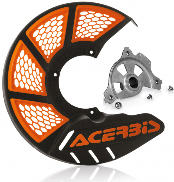 Acerbis ACERBIS X-BRAKE 2.0 DISC COVER & MOUNT BLACK ORANGE SX SXF EXC EXCF