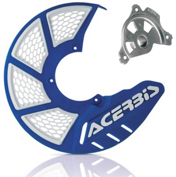 Acerbis ACERBIS X-BRAKE 2.0 DISC COVER KIT BLUE WHI SX SXF EXC EXCF