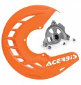 ACERBIS X-BRAKE DISC COVER & MOUNT ORANGE SX SXF EXC EXCF 57011.20079