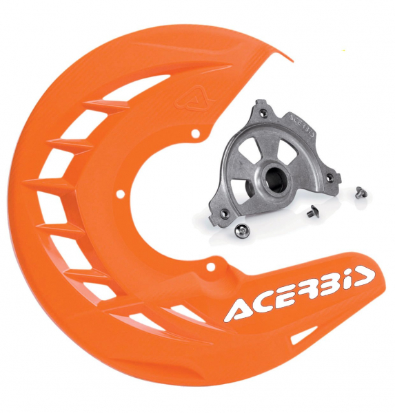 Acerbis ACERBIS X-BRAKE DISC COVER & MOUNT ORANGE SX SXF 15> EXC EXCF 16>