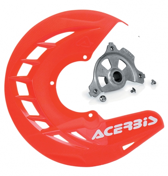 Acerbis ACERBIS X-BRAKE DISC COVER & MOUNT RED HONDA CR CRF 00-19