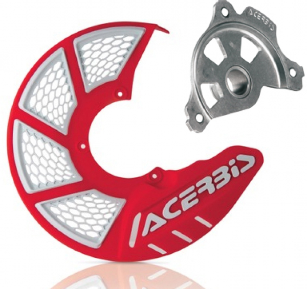 Acerbis ACERBIS X-BRAKE 2.0 DISC COVER & MOUNT RED WHITE GAS GAS 17-18
