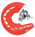 ACERBIS X-BRAKE DISC COVER & MOUNT RED GAS GAS 17-18 57110.23389