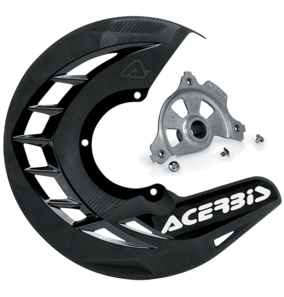 ACERBIS X-BRAKE DISC COVER KIT BLACK GAS GAS 17-18 57090.23389