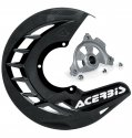 ACERBIS X-BRAKE DISC COVER & MOUNT BLACK SUZUKI RM 125 250 04-10 57090.20077