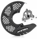 ACERBIS X-BRAKE 2.0 DISC COVER & MOUNT CARBON SUZUKI RM 125 250 04-10 705070.20077