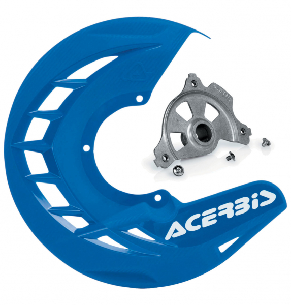 Acerbis ACERBIS X-BRAKE DISC COVER & MOUNT BLUE SUZUKI RMZ 250 450 07-19