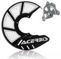 ACERBIS X-BRAKE 2.0 DISC COVER & MOUNT BLACK WHITE YAMAHA YZ 04-19 YZF 04-13 846090.20080