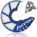 ACERBIS X-BRAKE 2.0 DISC COVER & MOUNT BLUE WHITE YAMAHA YZ 04-19 YZF 04-13 846040.20080