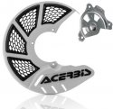 ACERBIS X-BRAKE 2.0 DISC COVER & MOUNT WHITE BLACK YAMAHA YZ 04-19 YZF 04-13 846030.20080