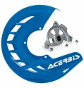 ACERBIS X-BRAKE DISC COVER & MOUNT BLUE YAMAHA YZ 04-19 YZF 04-13 57040.20080