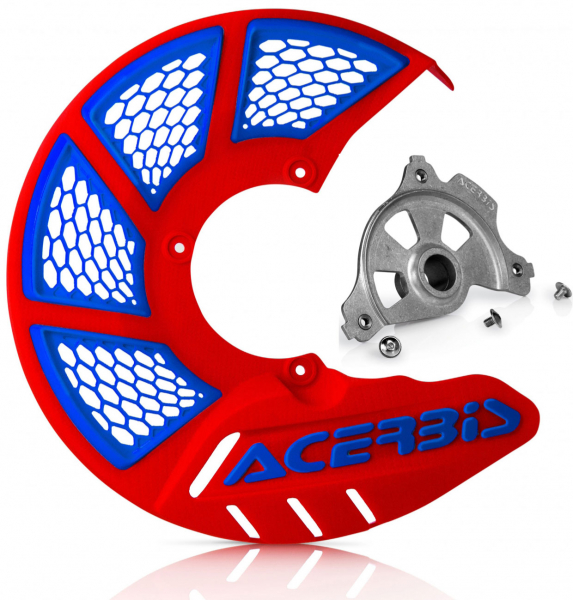 Acerbis ACERBIS X-BRAKE 2.0 DISC COVER & MOUNT RED BLUE YAMAHA YZF 14-19
