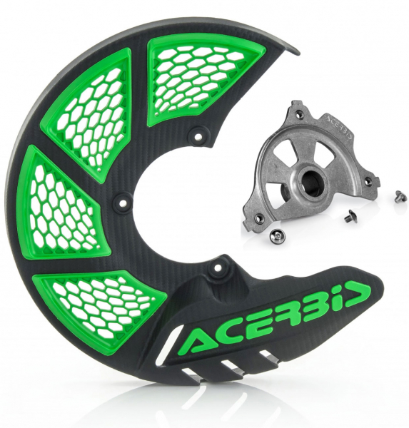 Acerbis ACERBIS X-BRAKE 2.0 DISC COVER & MOUNT BLACK GREEN KAWASAKI KXF 450 19