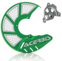 ACERBIS X-BRAKE 2.0 DISC COVER & MOUNT GREEN WHITE KAWASAKI KXF 450 19 846130.23663