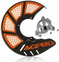 ACERBIS X-BRAKE MINI DISC COVER & MOUNT BLACK ORANGE SX TC 85 09-19 264313.21875