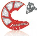 ACERBIS X-BRAKE MINI DISC COVER & MOUNT ORANGE WHITE SX TC 85 09-19 264203.21875