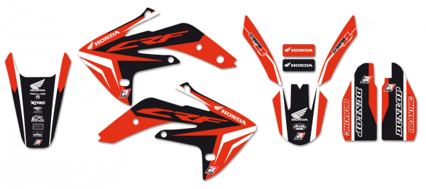 Blackbird Racing BLACKBIRD GRAPHICS KIT DREAM 4 HONDA CRF 150R 07-21