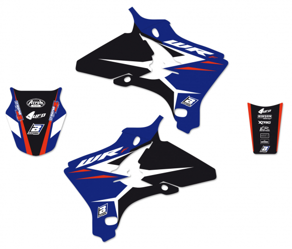 Blackbird Racing BLACKBIRD GRAPHICS KIT DREAM 4 YAMAHA WRF 250 450 05-06