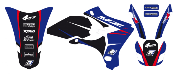 Blackbird Racing BLACKBIRD GRAPHICS KIT DREAM 4 YAMAHA YZF 250 450 03-05