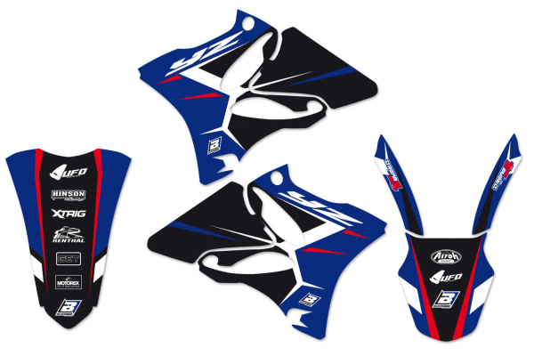 Blackbird Racing BLACKBIRD GRAPHICS KIT DREAM 4 YAMAHA YZ 125 250 02-14
