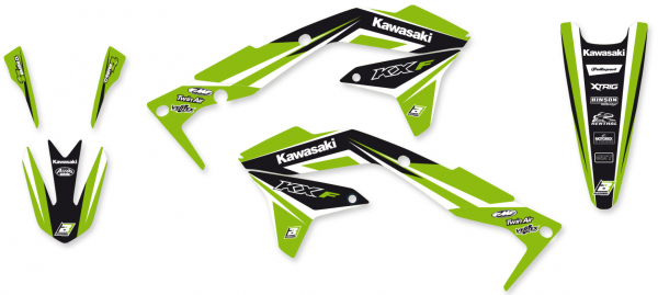 Blackbird Racing BLACKBIRD GRAPHICS KIT DREAM 4 KAWASAKI KXF 450 16-18