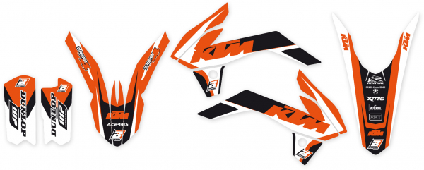 Blackbird Racing BLACKBIRD GRAPHICS KIT DREAM 4 KTM SX 85 13-17