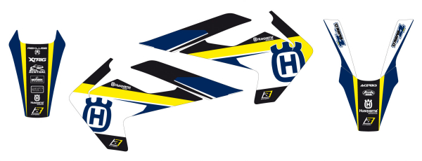 Blackbird Racing BLACKBIRD GRAPHICS KIT DREAM 4 HUSQ TC FC 16-18 TE FE 17-19