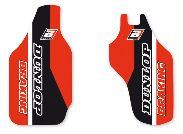 Blackbird Racing BLACKBIRD DECALS LOWER FORK D4 HONDA CRF450R CRF250R 09-18