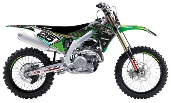 Blackbird Racing BLACKBIRD GRAPHICS KIT TEAM REPLICA KAWASAKI KXF 450 19-20