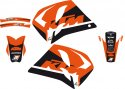 BLACKBIRD GRAPHICS KIT DREAM 4 KTM 2 STROKE 93-97 B2531N