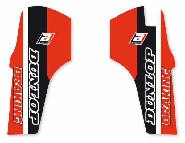 Blackbird Racing BLACKBIRD DECALS LOWER FORK D4 HONDA CRF 250 450 19-20