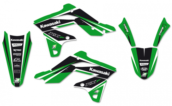 Blackbird Racing BLACKBIRD GRAPHICS KIT DREAM 4 KAWASAKI KXF 250 13-16