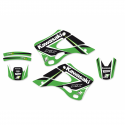 BLACKBIRD GRAPHICS KIT DREAM 4 KAWASAKI KX125 KX250 99-02 B2409N