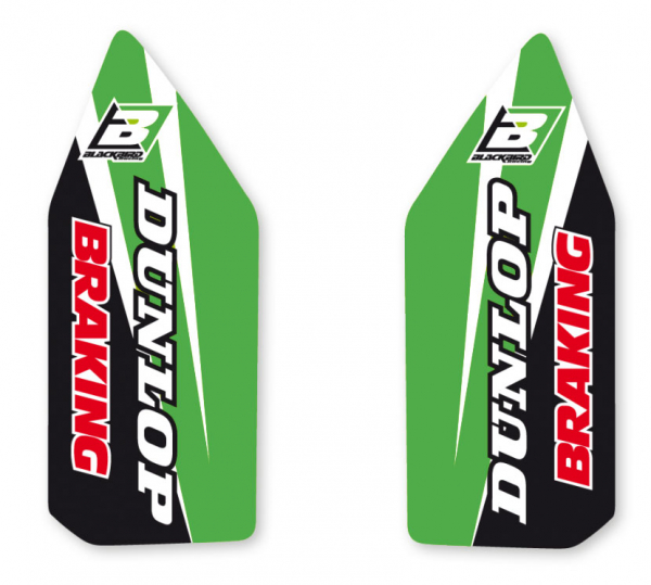 Blackbird Racing BLACKBIRD DECALS LOWER FORK D4 KXF 250 17-20 KXF 450 16-20