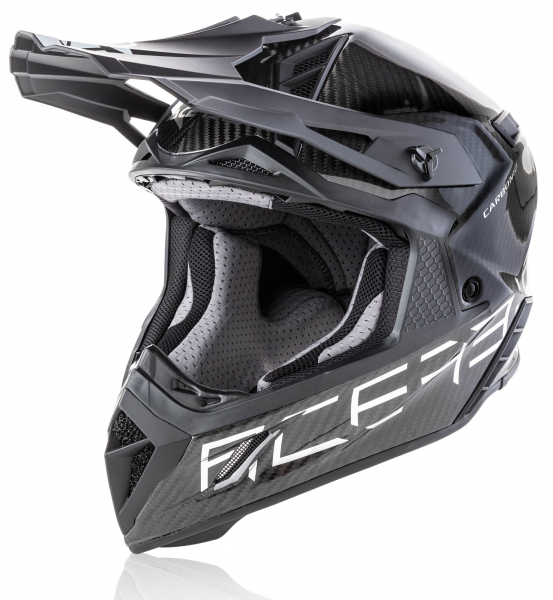 ACERBIS HELMET STEEL CARBON SILVER SMALL Small 23424.020.062