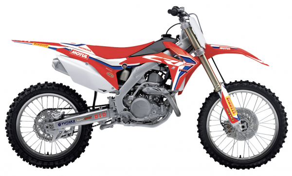 Blackbird Racing BLACKBIRD GRAPHICS KIT HRC 19 REPLICA CRF 250 14-17 450 13-16