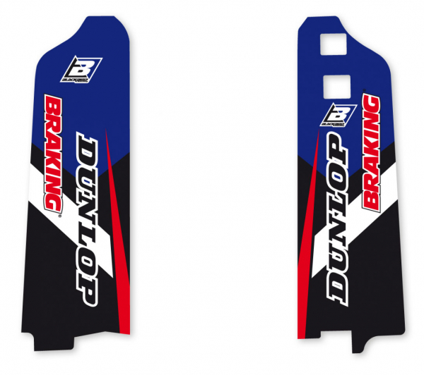 Blackbird Racing BLACKBIRD DECALS LOWER FORK D4 YAMAHA YZF WRF 98-04 YZ 96-04
