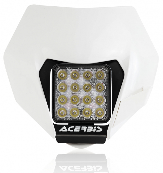 ACERBIS HEADLIGHT VSL KTM EXC EXCF 14-16 WHITE 23992.030