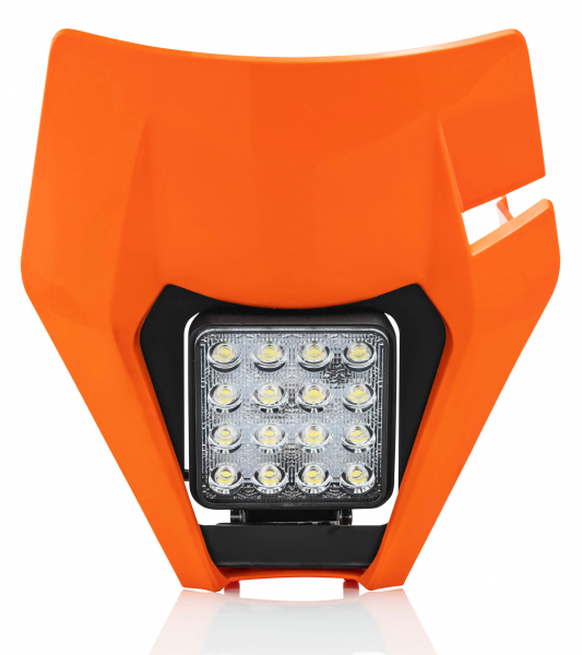 Acerbis ACERBIS HEADLIGHT VSL KTM EXC EXCF 17-19 ORANGE