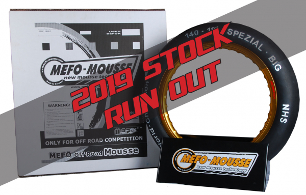 Mefo-Mousse MEFO MOUSSE FRONT 21 - 2019 STOCK RUN OUT