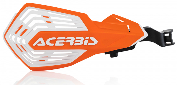 Acerbis ACERBIS HANDGUARDS K-FUTURE ORANGE WHITE
