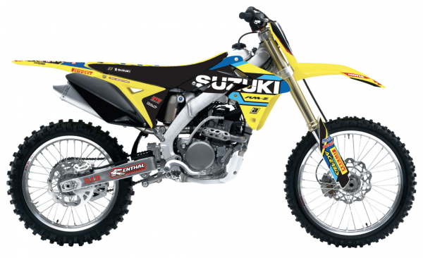 Blackbird Racing BLACKBIRD DECALS REPLICA FACTORY 19 SUZUKI RMZ 450 08-17