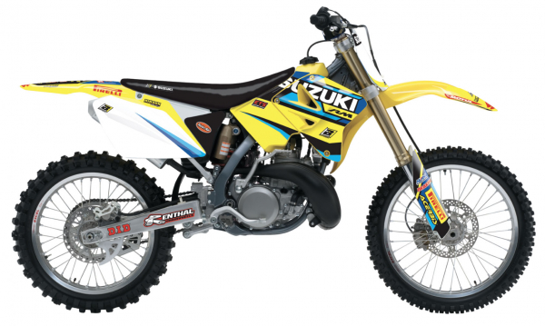 Blackbird Racing BLACKBIRD DECALS REPLICA FACTORY 19 SUZUKI RM 125 250 01-08