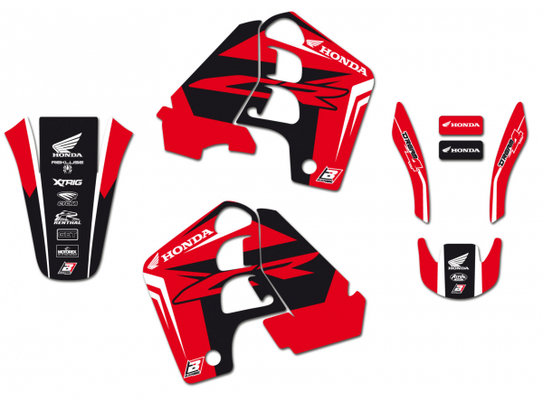 Blackbird Racing BLACKBIRD GRAPHICS KIT DREAM 4 HONDA CR 500 91-01