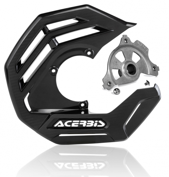 Acerbis ACERBIS X-FUTURE DISC COVER KIT BLACK YAMAHA YZF 14-20