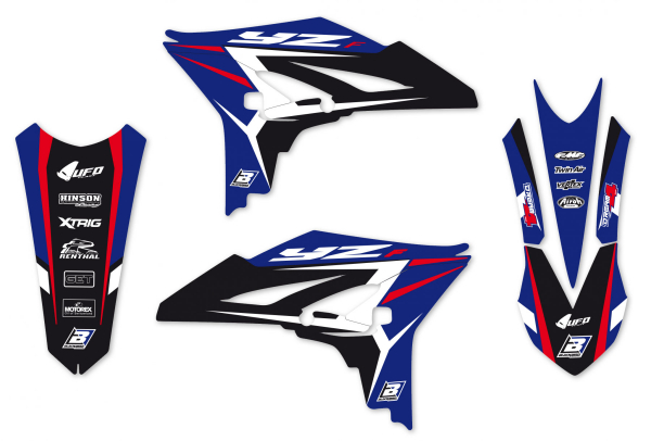 Blackbird Racing BLACKBIRD GRAPHICS KIT DREAM 4 YAMAHA YZF 250 10-13
