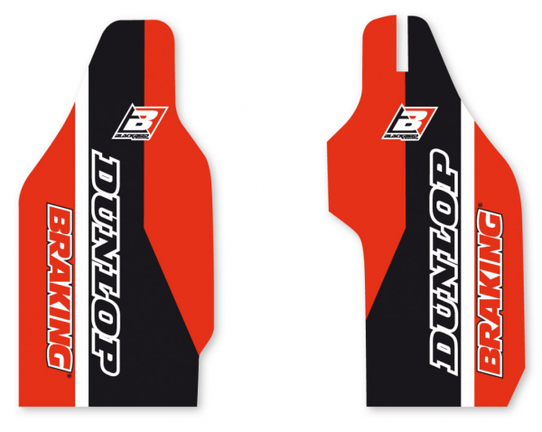 Blackbird Racing BLACKBIRD DECALS LOWER FORK D4 HONDA CRF450R CRF250R 04-08